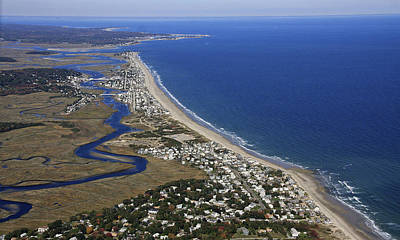 Rexhame And Humarock, Marshfield Art Print by Dave Cleaveland