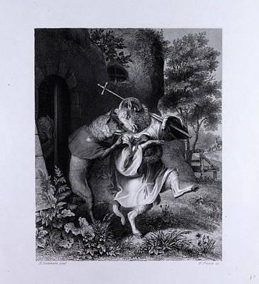Reynard And Bellin Art Print