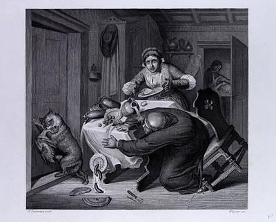 Reynard And The Priest Art Print