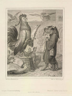Clergy Photograph - Reynard The Fox by British Library