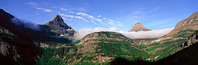 State Of Montana Photograph - Reynolds Mountain, Glacier National by Panoramic Images