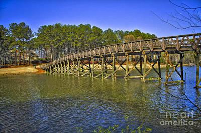 Tiger Woods Photograph - Reynolds Plantation Bridge by Reid Callaway