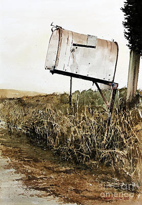 Mailbox Painting - RFD by Monte Toon