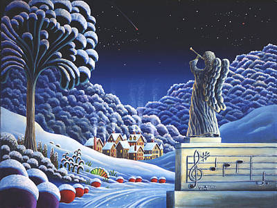 Unreal Painting - Rhapsody In Blue by Andy Russell