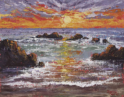 Painting - Rhapsody Of The Sun by Darice Machel McGuire