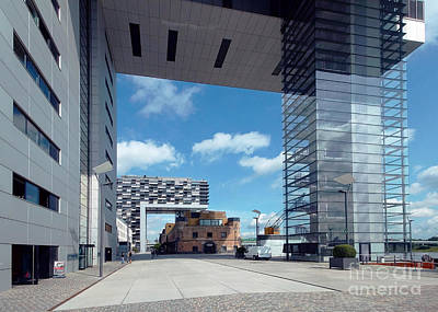 Photograph - Rheinauhafen Cologne 5 by Rudi Prott