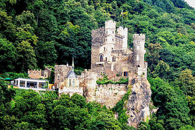 Photograph - Rheinstein Castle Germany by Marilyn Burton