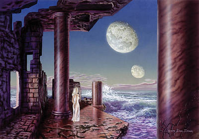 Fantasy World Painting - Rhiannon by Don Dixon