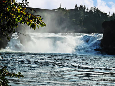 Photograph - Rhine Falls by Elvis Vaughn