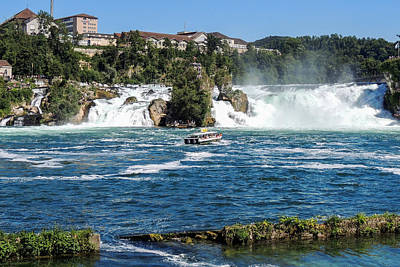 Photograph - Rhine Falls Switzerland by Marilyn Burton