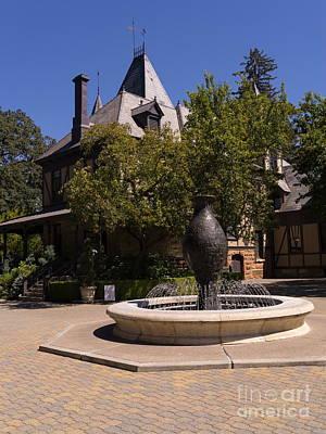 Photograph - Rhine House At Beringer Winery St Helena Napa California Dsc1727 by Wingsdomain Art and Photography