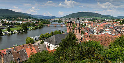 Photograph - Rhine River by John Johnson