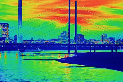 Freakish Photograph - Rhine River Turn by Romuald Gordon