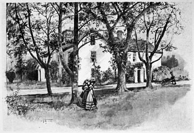 Rhode Island Greene House Art Print by Granger