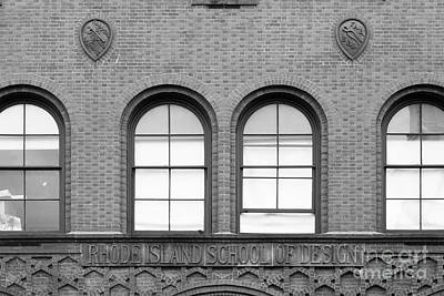 Photograph - Rhode Island School Of Design Waterman Building by University Icons
