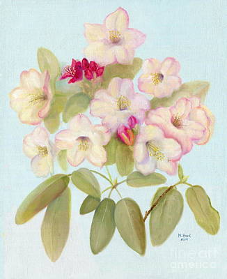 Painting - Dianne's Rhododendron by Marlene Book