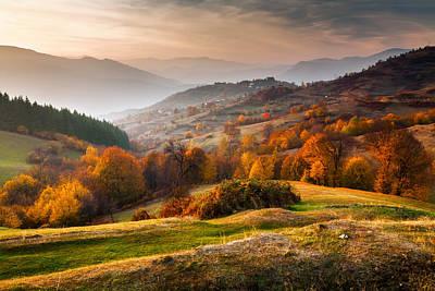 Rhodopean Landscape Art Print
