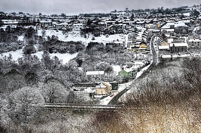 Just Desserts - Rhymney Valley Winter 2 by Steve Purnell