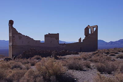 Photograph - Rhyolite Jail by Michael Courtney