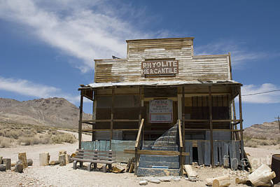 Photograph - Rhyolite Mercantile by Dan Suzio