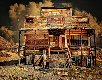 Photograph - Rhyolite Mercantile by Steve Benefiel