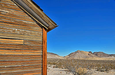 Photograph - Rhyolite Nevada - Ghost Town by Dana Sohr