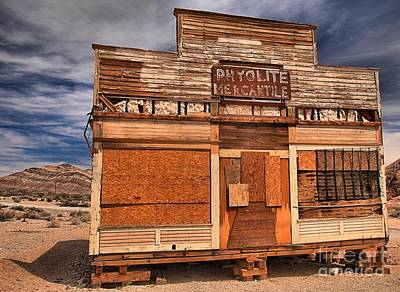 Photograph - Rhyolite Nevada Mercantile by Adam Jewell