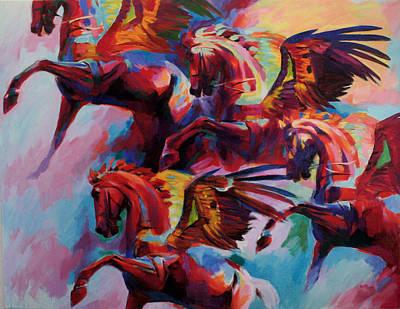 Painting - Rhythm Iv by Jana Fox