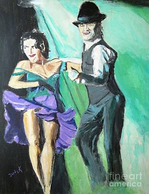 Ballroom Dancing Painting - Rhythm Of The Night by Judy Kay