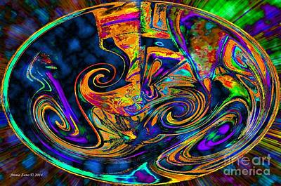 Digital Art - Rhythm Of The Soul by Annie Zeno