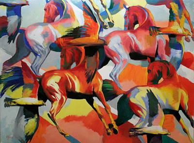 Painting - Rhythm V by Jana Fox