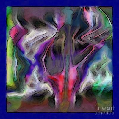 Rhythmic Vibes Art Print