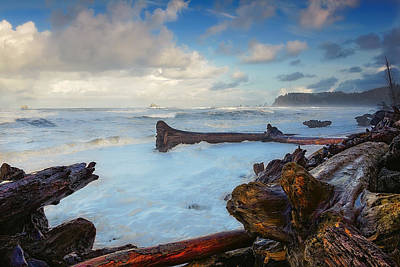 Photograph - Rialto Beach Storm by Ray Still