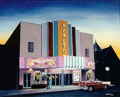 Painting - Rialto by Glenn Pollard