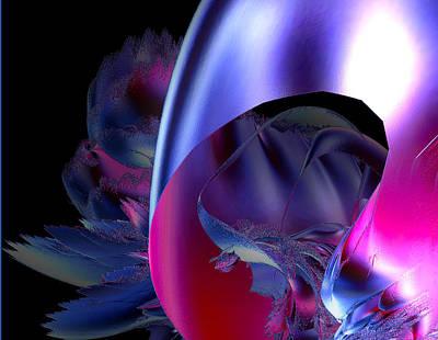 Digital Art - Ribbon by Betsy Jones