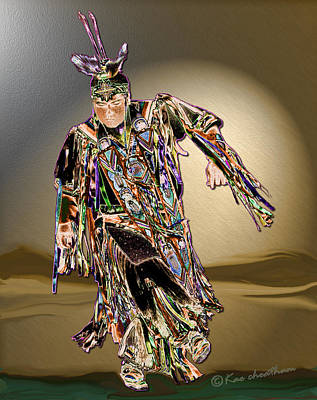 Ribbon Dancer Print by Kae Cheatham