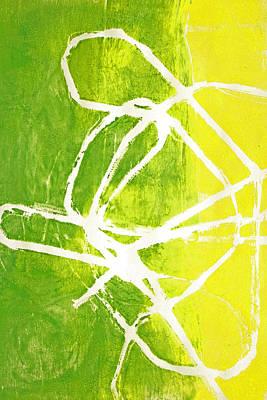 Painting - Ribbon Girl by Nancy Merkle