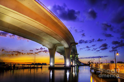 Concrete Photograph - Ribbon In The Sky by Marvin Spates