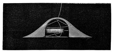 1874 Photograph - Ribbon Weaving by Science Photo Library