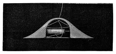 Ribbon Weaving Art Print