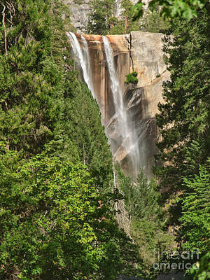 Photograph - Ribbons At Vernal Fall by Charles Kozierok