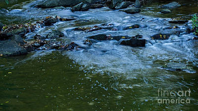 Photograph - Ribbons Of Water by Sandra Clark