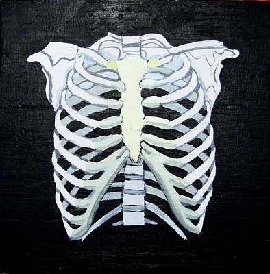 Painting - Ribs by Khryztof Holtwick