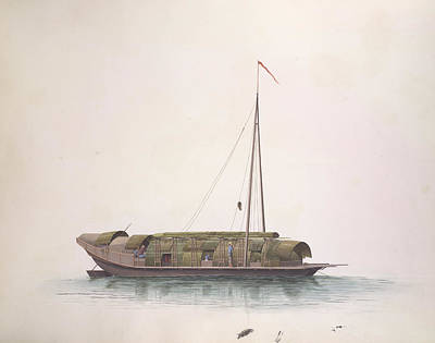 Illustration Technique Photograph - Rice-boat by British Library