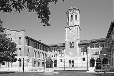 Keck Photograph - Rice University Keck Hall by University Icons