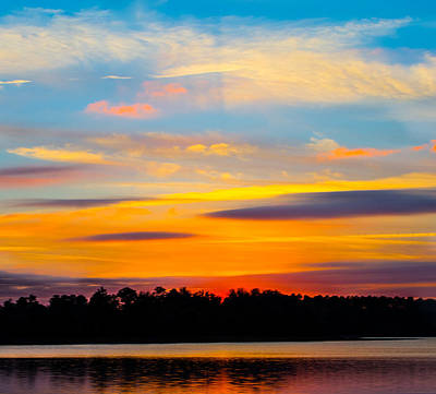 Photograph - Rich Colors At Sunset by Parker Cunningham