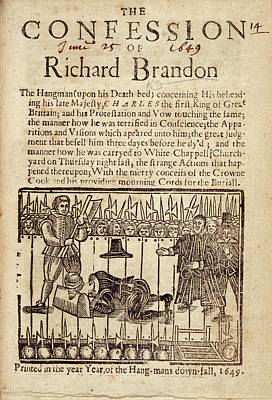 Richard Brandon Art Print by British Library