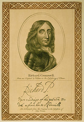 Cromwell Painting - Richard Cromwell (1626-1712) by Granger