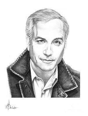 Richard Dreyfuss Drawing - Richard Dreyfuss by Murphy Elliott