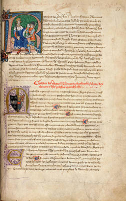 Richard Photograph - Richard II Appoints Earl Marshal by British Library